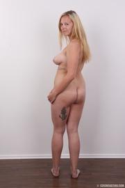 cute blonde wearing pink