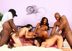 banging, black, individual model, latina