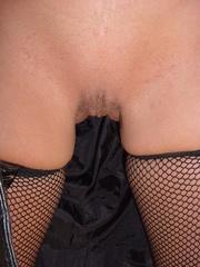 milf brunette hot black