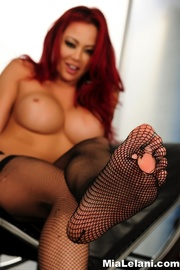 redhead cute lingerie and