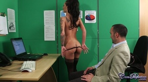 Smoking hot babe seduces her boss as she - XXX Dessert - Picture 5