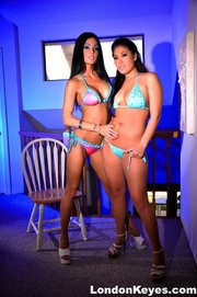 enthralling brunette divas hot