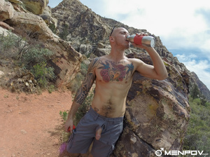 Long hike with their dicks out is finish - XXX Dessert - Picture 9