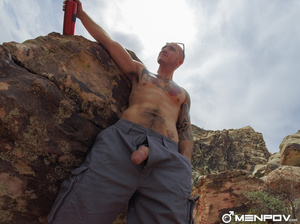 Long hike with their dicks out is finish - XXX Dessert - Picture 11