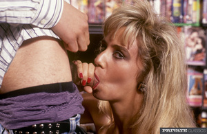 Lusty blonde lets two horny dudes take o - XXX Dessert - Picture 8