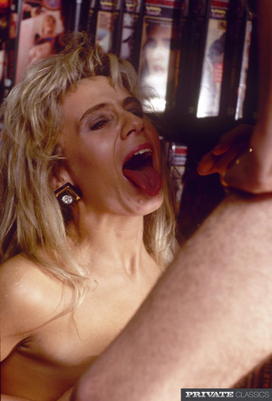 Lusty blonde lets two horny dudes take o - XXX Dessert - Picture 15