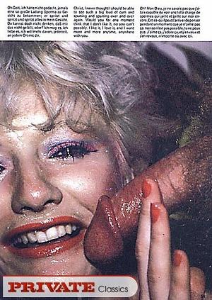 Blonde chick sucking a huge dick til it  - XXX Dessert - Picture 6