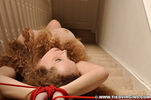 Curly-haired topless honey in lavander p - XXX Dessert - Picture 5