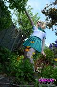 anime, cosplay, garden, hardcore