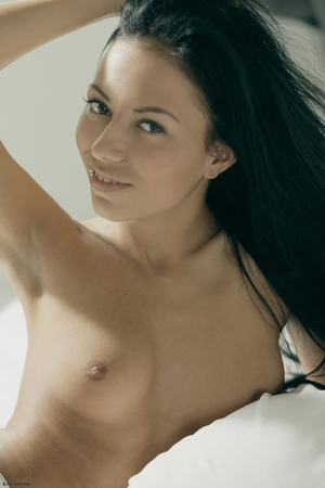 Brunette freshie stripping to show you h - XXX Dessert - Picture 2