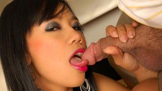 gorgeous thai babe teasing
