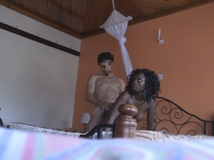 Black bitches displays their stunning bodies wearing sexy clothes in different bedrooms while others get their pussies screwed in different styles on different beds. - XXXonXXX - Pic 5