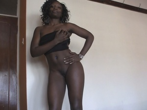 Beautiful black babes loves to tease and display their luscious bodies wearing sexy outfits while others gets doggy fucked and gets a facial. - XXXonXXX - Pic 4