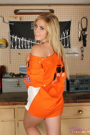 dreamy gal orange shirt