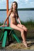 sensational strumpet displays her