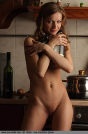 delicious dish displays her