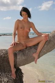heavenly chiquita posing coconut