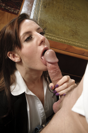 Busty young brunette hardly riding matur - XXX Dessert - Picture 4