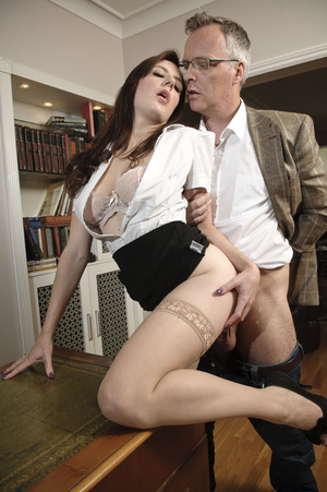 Busty young brunette hardly riding matur - XXX Dessert - Picture 8