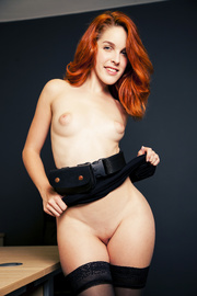 ginger beauty exciting stockings