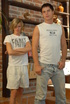 Blonde and brunette twinks pleasing each other orally