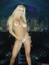 blonde temptress white and