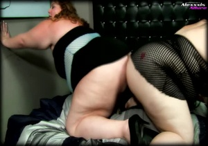 Two fat hotties wearing black nighties a - XXX Dessert - Picture 2