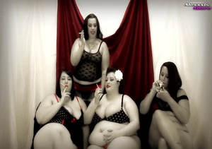 A bunch of fat hotties showing their hug - XXX Dessert - Picture 2