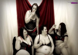 A bunch of fat hotties showing their hug - XXX Dessert - Picture 3