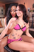interracial, lingerie