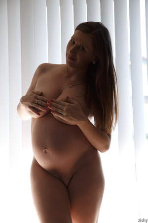 Amazing pics with busty pregnant babe po - XXX Dessert - Picture 11