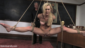 Two chicks get bound with rope and suspe - XXX Dessert - Picture 2