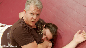 Painful martial arts demonstration from  - XXX Dessert - Picture 11