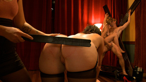 Pack of pervs have some kinky group sex  - XXX Dessert - Picture 15