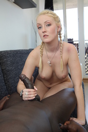 awesome sexy blonde doing