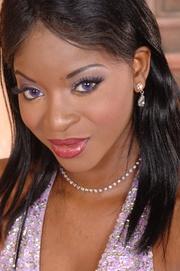 sexy black chick having
