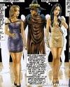 Unbelievable porn comics with hardcore bdsm orgy where bound slave girls