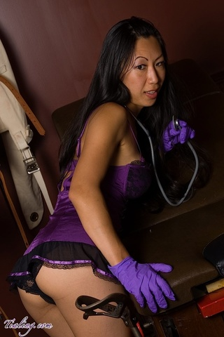 alluring asian chick luscious