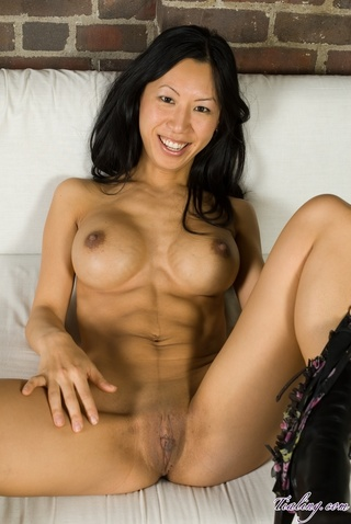 asian porn star tia ling - foxy asian chick displays