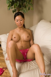 sweet asian babe with