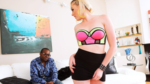 Blonde doll in a nice bra and skirt gets - XXX Dessert - Picture 4