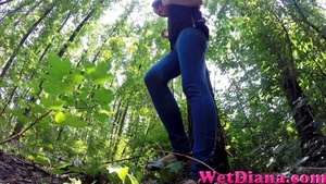 Slim-fit Diana takes off her denim pants after peeing - XXXonXXX - Pic 3