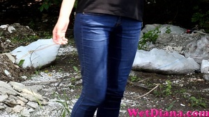 She makes her pants wet from top to bottom outdoors - XXXonXXX - Pic 4