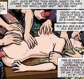 Nasty mature lads get their hands on busty blonde. The Hotties Next Door