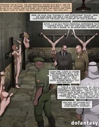 Wealthy man shows his friends the house of lust. The Slave Factory Part