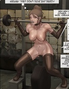 Girls are working hard to not be penetrated deep . The Slave Factory Part