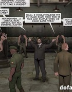 Abducted wenches are tortured in the basement. The Slave Factory Part