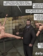 Special agents are held as hostages in the dungeon. The Slave Factory