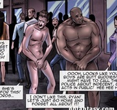 Cool episodes from porn comics with naked hungs and roped girls. Vendetta