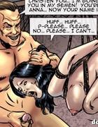 Brunette ex-mistress becomes a slave fore bad tortures in bondage . Vendetta